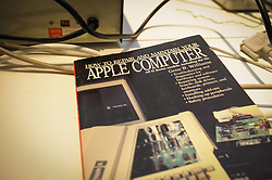 January 28, 2018 - Warsaw, Poland - An old manual for Apple computers is seen during the Retroapple 0.2 meetup in Warsaw, Poland on January 28, 2018. (Credit Image: © Jaap Arriens/NurPhoto via ZUMA Press)