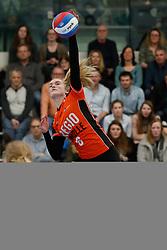 20180331 NED: Eredivisie Sliedrecht Sport - Regio Zwolle, Sliedrecht <br />Iris Reinders (6) of Regio Zwolle <br />©2018-FotoHoogendoorn.nl / Pim Waslander