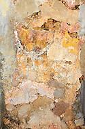 Weathered wall in Gibara, Holguin, Cuba.