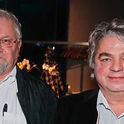 NLD/Amsterdam/20110124 - Uitreiking Beeld en Geluid awards 2010, Thijs Timbergen en Jan Musch