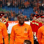 NLD/Amsterdam/20121114 - Vriendschappelijk duel Nederland - Duitsland, Ron Vlaar, ??.., Johnny Heitinga