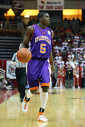 30 January 2007: Shy Ely. The Purple Aces of Evansville folded the final 2 minutes of play and handed the game to Illinois State University Redbirds by a score of 65-61at Redbird Arena in Normal Illinois.