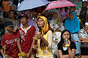Spectators watch the National Day celebrations, Bandar Seri Begawan