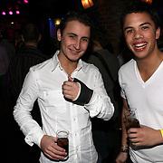 NLD/Uitgeest/20080116 - Uitreiking Popularitiets award Noord Holland 2008, maxim Froger en Jordy The