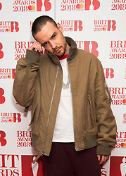 EDITORIAL USE ONLY XXXX Liam Payne attending the Brit Awards 2018 Nominations event held at ITV Studios on Southbank, London. Photo credit should read: David Jensen/EMPICS Entertainment