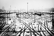 """a warehouse trains.<br /> The shadow line is a trip, a trip losing myself, looking for myself.<br /> Like the romance """"the shadow line"""" by Joseph Conrad (1917).<br /> I was in Italy, England, Bosnia, Montenegro, Serbia..<br /> It isn't a reportage, it isn't a story.<br /> It is a searching.."""