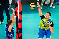 Vincic Dejan #9 during volleyball match between National teams of Slovenia and Finland in 2nd Round in Group C of 2019 CEV Volleyball Men's European Championship in Ljubljana, on September 14, 2019 in Arena Stozice. Ljubljana, Slovenia. Photo by Grega Valancic / Sportida