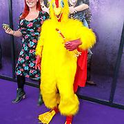 NLD/Amsterdam/20150614 - Filmpremiere Spangas in Actie, de kip