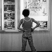 Cine en la ciudad de Almeria, Diciembre 1980.
