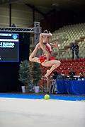 Ileana Carnelli from Moderna Legnano team during the Italian Rhythmic Gymnastics Championship in Padova, 25 November 2017.