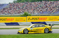 05.06.2011, Red Bull Ring, Spielberg, AUT, DTM Red Bull Ring, im Bild David Coulthard, (GBR, Deutsche Post AMG Mercedes) // during the DTM race on the Red Bull Circuit in Spielberg, 2011/06/05, EXPA Pictures © 2011, PhotoCredit: EXPA/ S. Zangrando