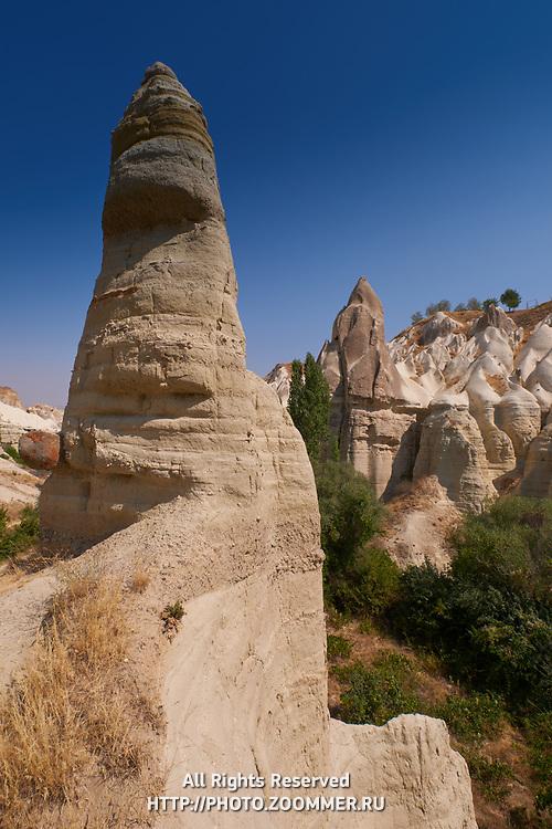 Cappadocia Love Valley lanscape, Turkey