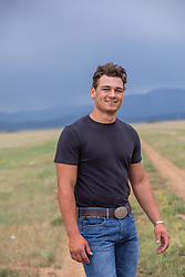 handsome guy outdoors