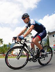 02.07.2013, Osttirol, AUT, 65. Oesterreich Rundfahrt, 3. Etappe, Heiligenblut - Matrei in Osttirol, im Bild Kristoff Goddaert (BEL, IAM Cycling) // during the 65 th Tour of Austria, Stage 3, from Heiligenblut to Matrei, Tyrol, Austria on 2013/07/02. EXPA Pictures © 2013, PhotoCredit: EXPA/ Johann Groder