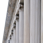 Columns on the US Department of the Treasury, Washington DC