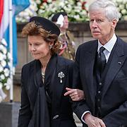LUX/Luxemburg/20190504 -  Funeral<br /> of HRH Grand Duke Jean, Uitvaart Groothertog Jean, Prinses Margaretha en Prins Nikolaus van Liechtenstein