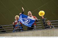 29 June 2013; British & Irish Lions and Leinster supporters Mike and Sarah Whelan ahead of the game. British & Irish Lions Tour 2013, 2nd Test, Australia v British & Irish Lions, Ethiad Stadium, Melbourne, Australia. Picture credit: Stephen McCarthy / SPORTSFILE