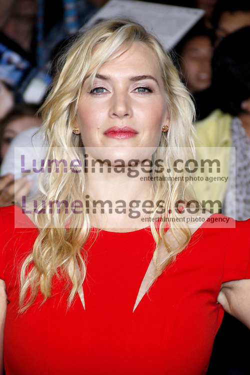 """Kate Winslet at the Los Angeles premiere of """"Divergent"""" held at the Regency Bruin Theatre in Westwood, USA on March 18, 2014."""