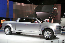 09 February 2006:  Ford Super Chief Concept Pickup Truck.....Chicago Automobile Trade Association, Chicago Auto Show, McCormick Place, Chicago IL