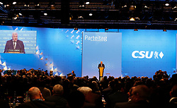 19.01.2019, Kleine Olympiahalle, Muenchen, GER, CSU Parteitag in München, im Bild Horst Seehofer hält seine Abschiedsrede // during the CSU party congress at the Kleine Olympiahalle in Muenchen, Germany on 2019/01/19. EXPA Pictures © 2019, PhotoCredit: EXPA/ SM<br /> <br /> *****ATTENTION - OUT of GER*****