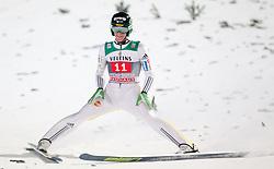 06.01.2015, Paul Ausserleitner Schanze, Bischofshofen, AUT, FIS Ski Sprung Weltcup, 63. Vierschanzentournee, Finale, im Bild Peter Prevc (SLO) // Peter Prevc of Slovenia during Final Jump of 63rd Four Hills <br /> Tournament of FIS Ski Jumping World Cup at the Paul Ausserleitner Schanze, Bischofshofen, Austria on 2015/01/06. EXPA Pictures © 2015, PhotoCredit: EXPA/ JFK
