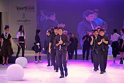 Megashow Trend's, por Hugo Moser na HAIR BRASIL 2011 - 10 ª Feira Internacional de Beleza, Cabelos e Estética, que acontece de 02 a 05 de abril no Expocenter Norte, em São Paulo. FOTO: Jefferson Bernardes/Preview.com