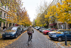 Worther Strasse in gentrified Prenzlauer Berg in Berlin Germany