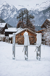 THEMENBILD - geschlossenes Drehkreuz der Gletscherbahnen Kaprun AG. Skigebiete dürfen ab 24. Dezember wieder öffnen, aufgenommen am 02. Dezember 2020 in Kaprun, Österreich // closed turnstile of the Gletscherbahnen Kaprun AG in Kaprun. Ski resorts may reopen from 24 December, Austria on 2020/12/02. EXPA Pictures © 2020, PhotoCredit: EXPA/ JFK