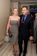 LARA STONE; DAVID WALLIAMS, The Tomodachi ( Friends) Charity Dinner hosted by Chef Nobu Matsuhisa in aid of the Unicef  Japanese Tsunami Appeal. Nobu Berkeley St. London. 5 May 2011. <br /> <br />  , -DO NOT ARCHIVE-© Copyright Photograph by Dafydd Jones. 248 Clapham Rd. London SW9 0PZ. Tel 0207 820 0771. www.dafjones.com.