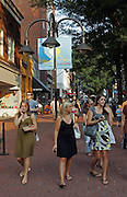 Downtown mall in Charlottesville.