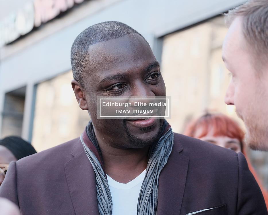 Edinburgh International Film Festival 2019<br /> <br /> Farming (UK Premiere)<br /> <br /> Pictured: Adewale Akinnuoye-Agbaje (Director)<br /> <br /> Alex Todd | Edinburgh Elite media