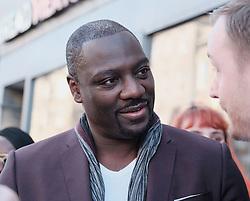 Edinburgh International Film Festival 2019<br /> <br /> Farming (UK Premiere)<br /> <br /> Pictured: Adewale Akinnuoye-Agbaje (Director)<br /> <br /> Alex Todd   Edinburgh Elite media