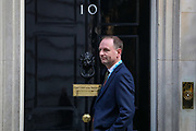 Simon Stevens, the chief executive officer of the NHS arriving in Downing Street, London on Tuesday, March 24, 2020 - for a Cabinet meeting, the day after Prime Minister Boris Johnson put the UK in lockdown to help curb the spread of the coronavirus. (Photo/Vudi Xhymshiti)