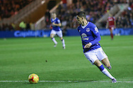 Everton forward Kevin Mirallas  during the Capital One Cup match between Middlesbrough and Everton at the Riverside Stadium, Middlesbrough, England on 1 December 2015. Photo by Simon Davies.