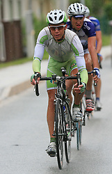 Matej Stare of Slovenia (Perutnina Ptuj) escaped during 3rd stage of the 15th Tour de Slovenie from Skofja Loka to Krvavec (129,5 km), on June 13,2008, Slovenia. (Photo by Vid Ponikvar / Sportal Images)/ Sportida)
