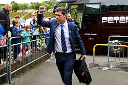 Bristol Rovers manager Darrell Clarke arrives at Adams Park for the Sky Bet League One fixture against Wycombe Wanderers - Mandatory by-line: Robbie Stephenson/JMP - 18/08/2018 - FOOTBALL - Adam's Park - High Wycombe, England - Wycombe Wanderers v Bristol Rovers - Sky Bet League One