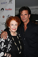 11/3/2010 Lorenzo Lamas and Arlene Dahl attend the Hollywood Walk of Fame's 50th anniversary party.