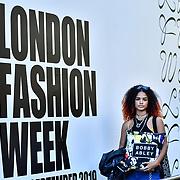 Fashionista attend London Fashion Week SS20 - Final Day