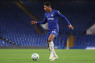 Faustino Anjorin of Chelsea (64) dribbling during the EFL Trophy match between U21 Chelsea and AFC Wimbledon at Stamford Bridge, London, England on 4 December 2018.