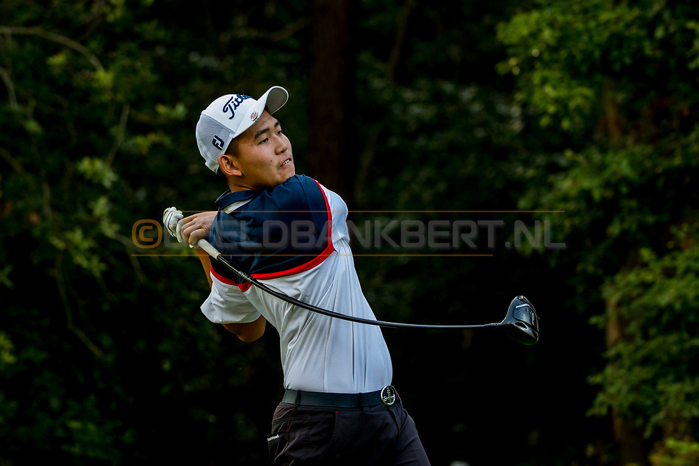 20-07-2019 Pictures of the final day of the Zwitserleven Dutch Junior Open at the Toxandria Golf Club in The Netherlands.<br /> CHEN, Guxin