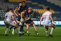 Beck Cutting of Worcester Warriors in action  - Mandatory by-line: Craig Thomas/JMP - 03/11/2017 - RUGBY - Sixways Stadium - Worcester, England - Worcester Warriors v Sale Sharks - Anglo Welsh Cup