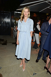 PICTURE SHOWS:-OLIVIA HUNT.<br /> Tuesday 14th April 2015 saw a host of London influencers and VIP faces gather together to celebrate the launch of The Ivy Chelsea Garden. Live entertainment was provided by jazz-trio The Blind Tigers, whilst guests enjoyed Moët & Chandon Champagne, alongside a series of delicious canapés created by the restaurant's Executive Chef, Sean Burbidge.<br /> The evening showcased The Ivy Chelsea Garden to two hundred VIPs and Chelsea<br /> residents, inviting guests to preview the restaurant and gardens which marry<br /> approachable sophistication and familiar luxury with an underlying feeling of glamour and theatre. The Ivy Chelsea Garden's interiors have been designed by Martin Brudnizki Design Studio, and cleverly combine vintage with luxury, resulting in a space that is both alluring and down-to-earth.