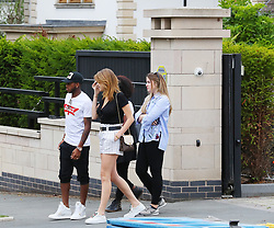 7.8.18….. Manchester United new signing Fred goes Manchestersion hunting in Cheshire with his girlfriend Monique Salum and some of his family.