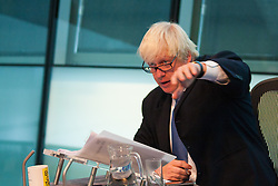 City Hall, London. September 17th 2014. Mayor of London Boris Johnson fields questions from members of the London Assembly during Mayor's Question Time. PAYMENT/CONTACT DETAILS: paul@pauldaveycreative.co.uk Te' +44 (0) 7966 016 296 or +44 (0) 208 969 6875