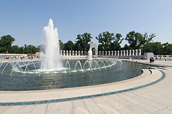 Washington DC; USA: The National World War II Memorial on the Mall..Photo copyright Lee Foster Photo # 7-washdc83264