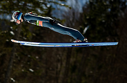 Marius Lindvik (NOR) during the Qualification Round of the Ski Flying Hill Individual Competition at Day 1 of FIS Ski Jumping World Cup Final 2019, on March 21, 2019 in Planica, Slovenia. Photo by Masa Kraljic / Sportida