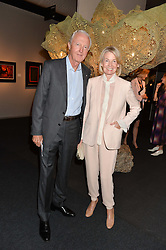 GALEN & HILARY WESTON at the PAD London 10th Anniversary Collector's Preview, Berkeley Square, London on 3rd October 2016.