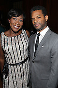 New York, NY-October 5:  (L-R) On-Air Personality Joy Reid and Author Miles Marshall Lewis, Arts & Culture Editor, Ebony.com attends the ColorOfChange.org's 10th Anniversary Gala held at Gotham Hall on October 5, 2015 in New York City.  Terrence Jennings/terrencejennings.com