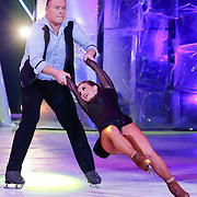 "NLD/Hilversum/20130105 - 2de Liveshow Sterren Dansen op het IJs 2013, Tony ""Sterretje"" Wyczynski en danspartner Alexandra Murphy"
