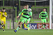 Forest Green Rovers George Williams(11) runs forward during the The FA Cup 1st round replay match between Forest Green Rovers and Oxford United at the New Lawn, Forest Green, United Kingdom on 20 November 2018.